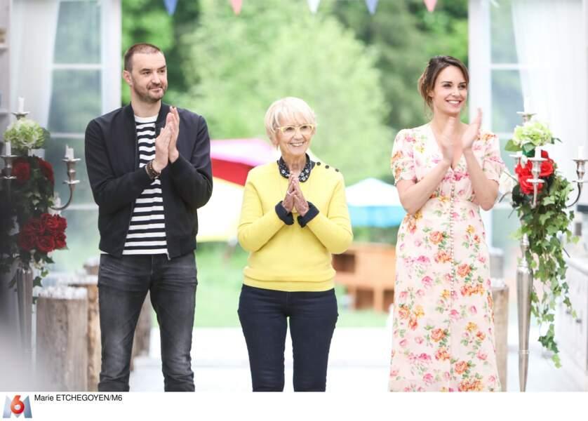 Tous les trois accompagneront les candidats au fil des émissions.