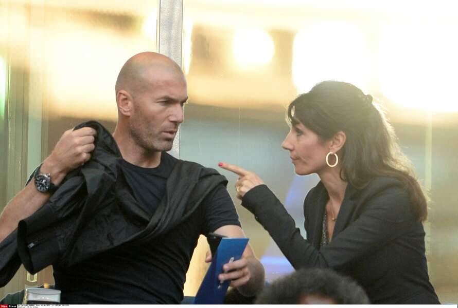 Zinédine Zidane et sa femme Véronique : 2015