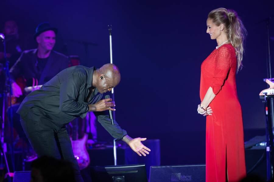 Adriana Karembeu et Seal