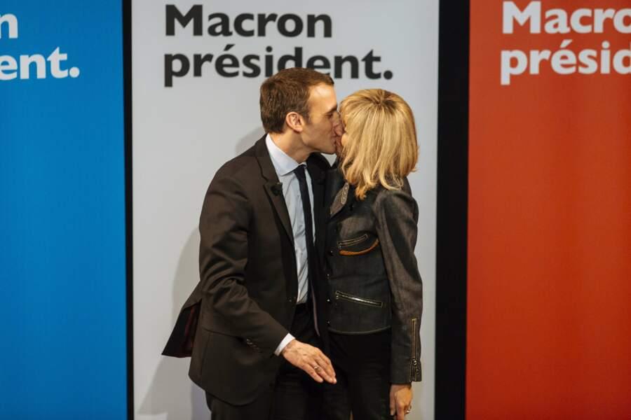 Emmanuel et Brigitte Macron - Mars 2017