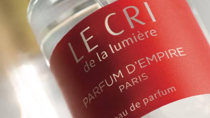 On adore... Le Cri de la lumière de Parfum d'Empire