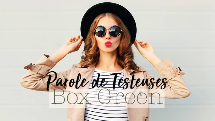 La Box Green par celles qui l'ont testée