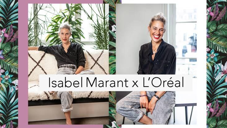 Isabel Marant signe sa première collaboration avec L'Oréal Paris
