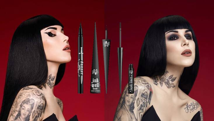Une collection de liners 100% vegan chez Kat Von D