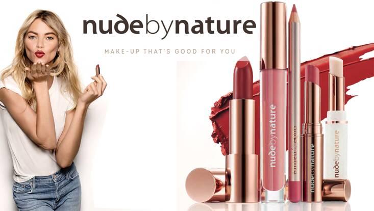 Nature jusqu'au bout des lèvres avec Nude By Nature