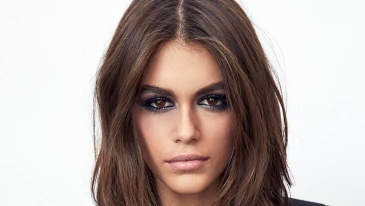 Kaia Gerber, nouvelle ambassadrice maquillage YSL Beauté