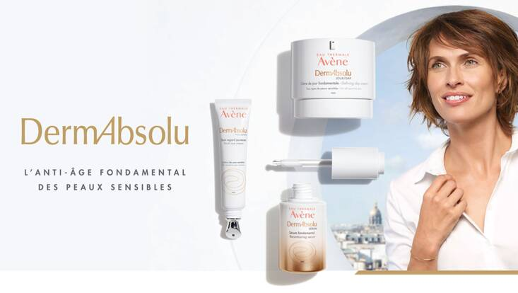Dermabsolu, la nouvelle gamme Anti-âge d'Avène