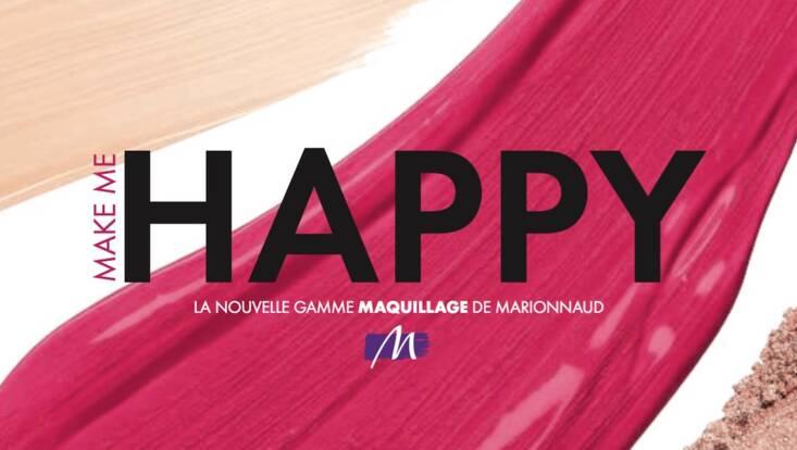 Marionnaud lance Make Me Happy, sa nouvelle gamme de maquillage