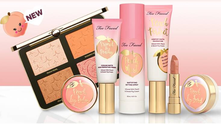Gardez la pêche avec la collection Peaches and Cream de Too Faced