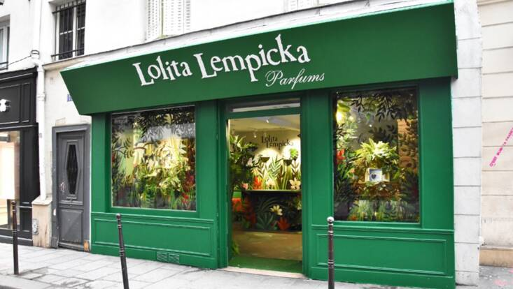 Lolita Lempicka ouvre son premier pop up store