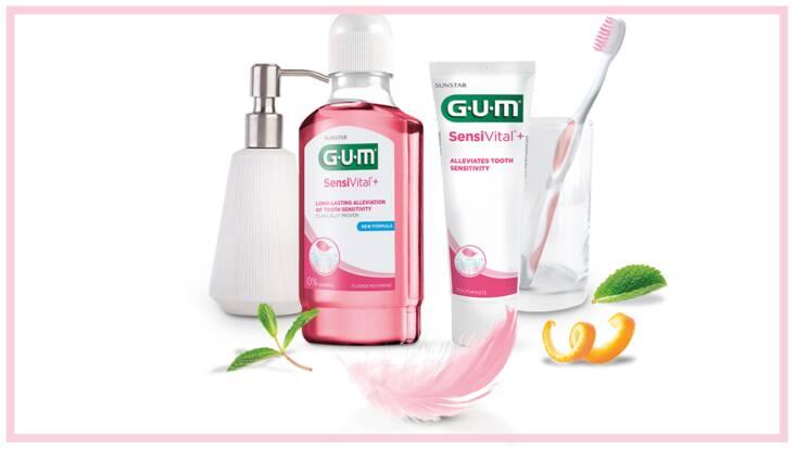 Sensivital+, une gamme dédiée aux dents sensibles chez GUM