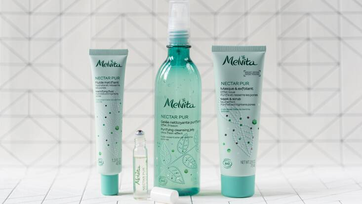 Du nouveau pour les peaux mixtes et grasses avec Melvita