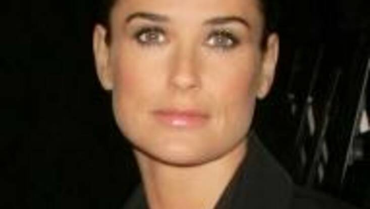 Demi Moore, une muse pour Helena Rubinstein
