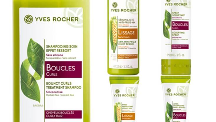 Yves Rocher :  le végétal au service des cheveux lissés ou bouclés