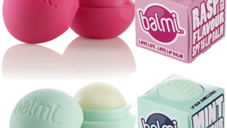 Balmi, le baume à lèvres tout rond