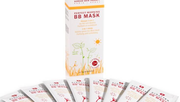 Perfect Morning BB Mask, un coup d'éclat express signé Erborian