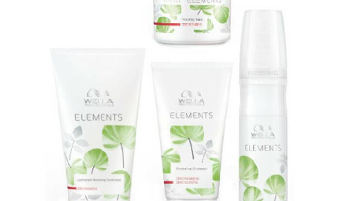 Wella Professionals se met au vert avec Elements