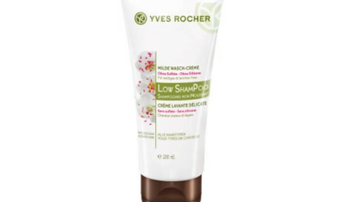 Low Shampoo, le soin végétal capillaire par Yves Rocher