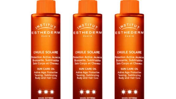 Esthederm lance sa première huile solaire
