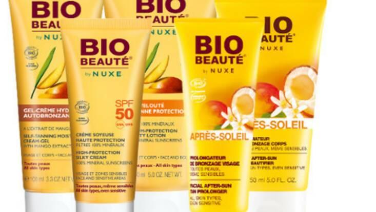Bio-Beauté by Nuxe, la protection minérale 100% plaisir