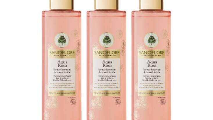 Aqua Rosa, la rosée de la peau par Sanoflore
