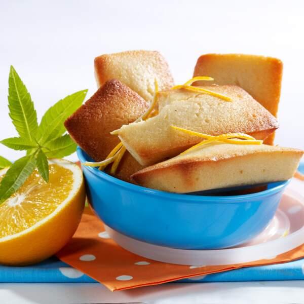 Financiers à la fleur d'oranger