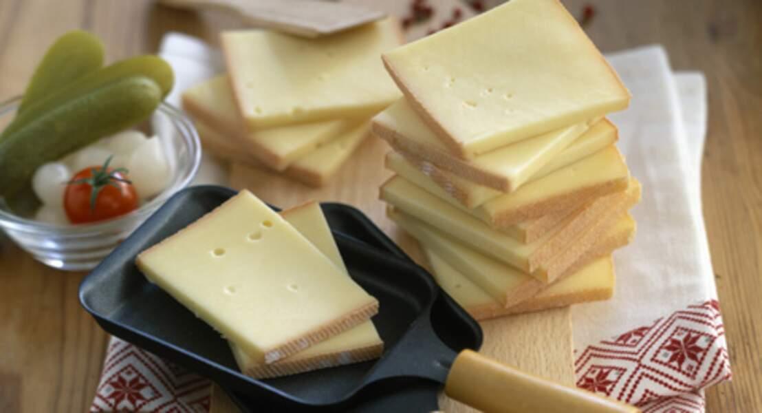 Raclette aux quatre fromages