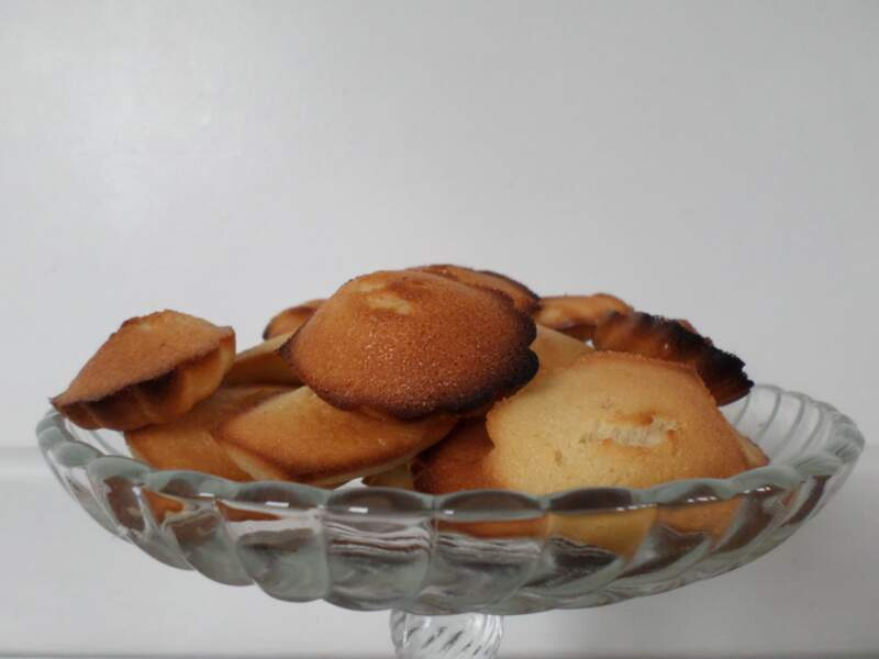 Financiers ronds aux amandes