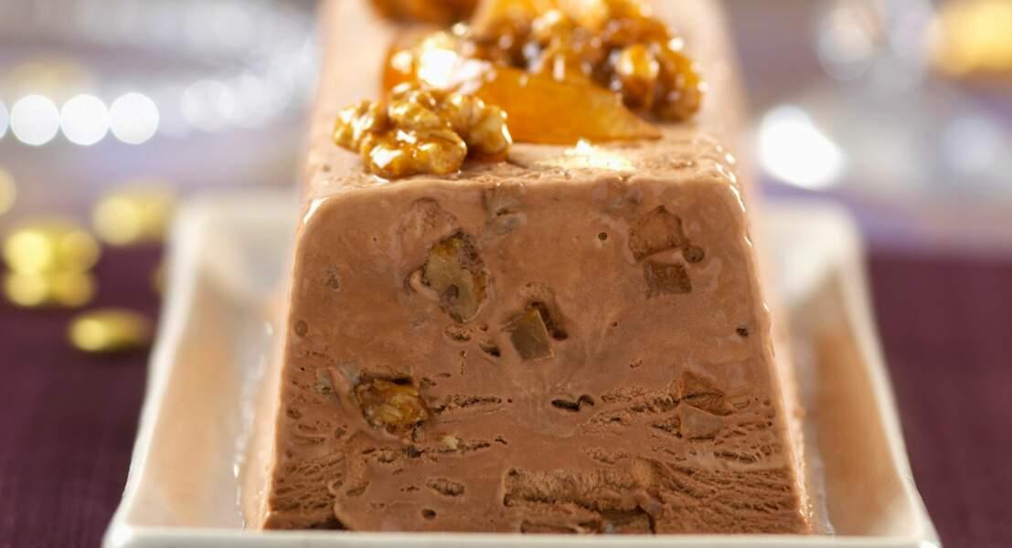 Nougat glacé au chocolat
