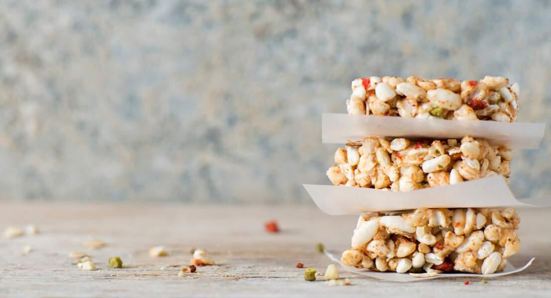 Barres de céréales muesli abricot