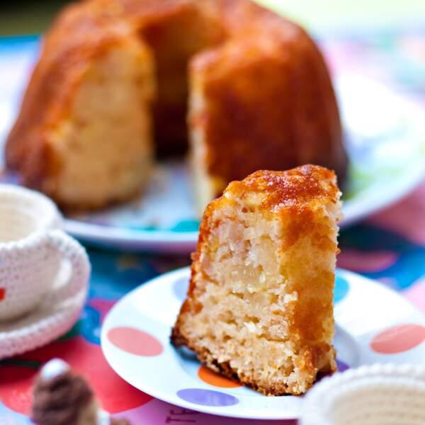 Le gâteau au yaourt aux poires