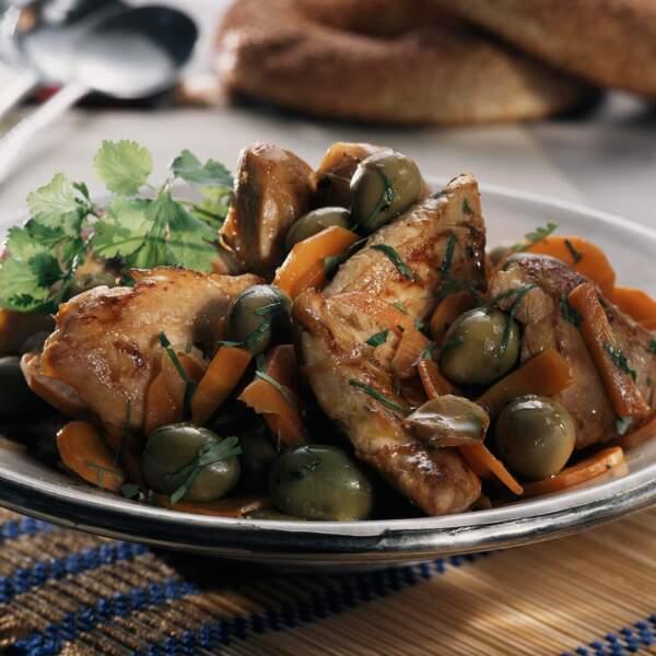Tendron de veau aux olives