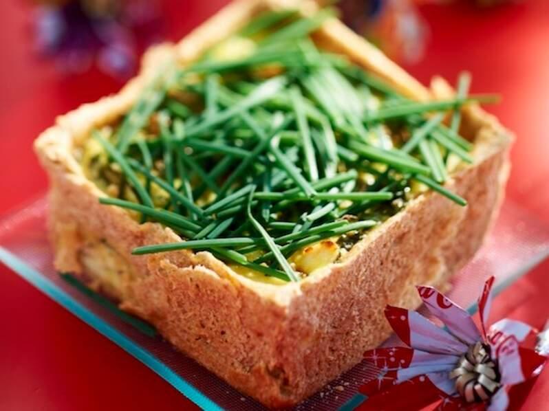 Cheesecake aux épinards