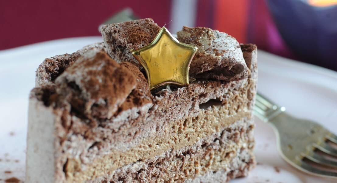 Gâteau meringué au chocolat