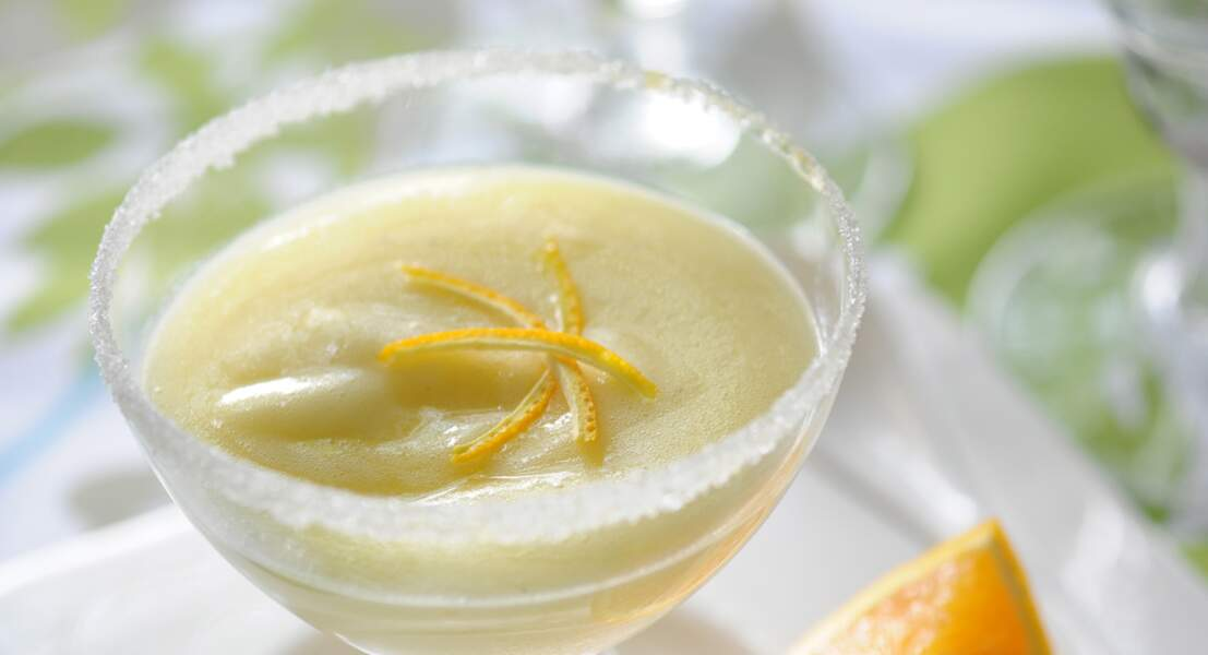 Sabayon au champagne et aux oranges