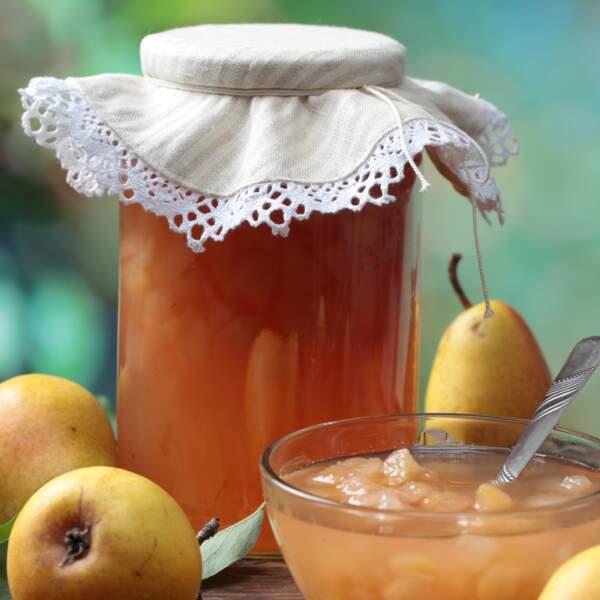 La confiture poires et noix