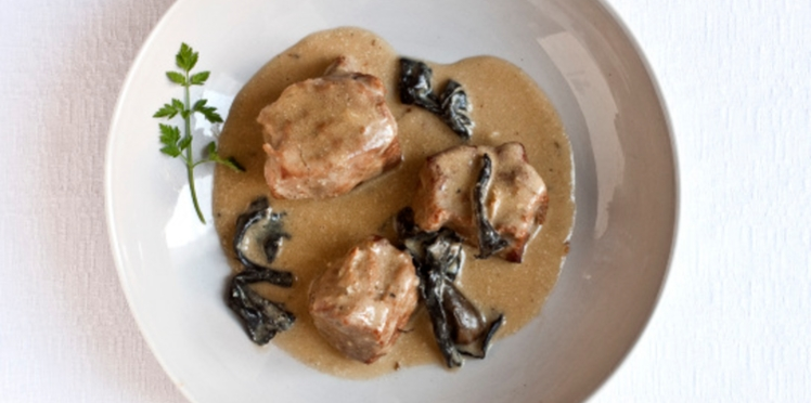 Blanquette de veau aux morilles avec le Cook Expert de Magimix