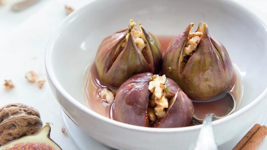 Figues fourrées aux noix