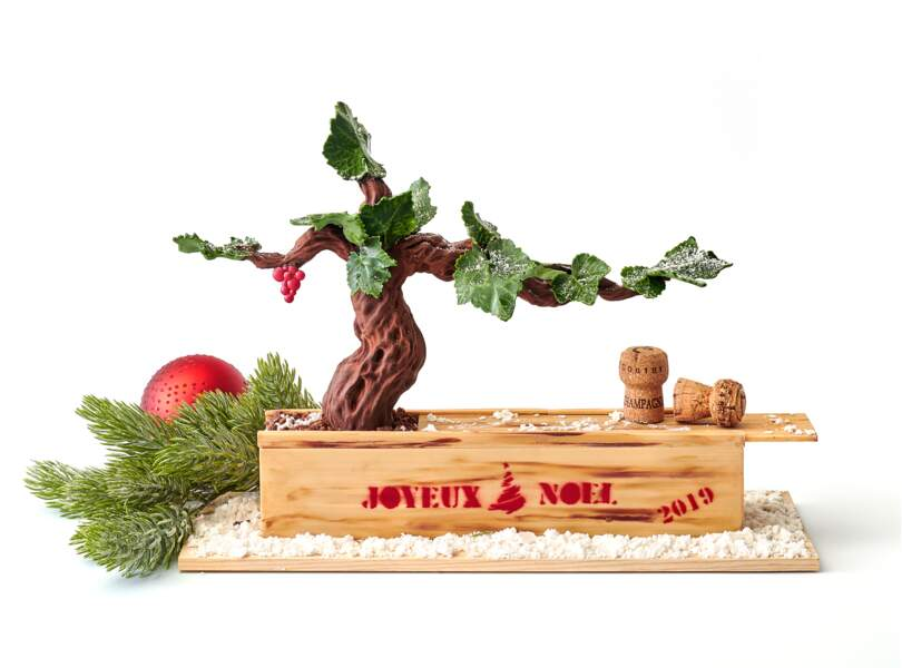 Bûche de Noël 2019 : The Peninsula Paris