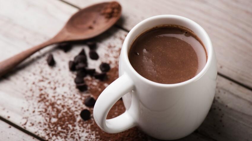 Chocolat chaud sans lait