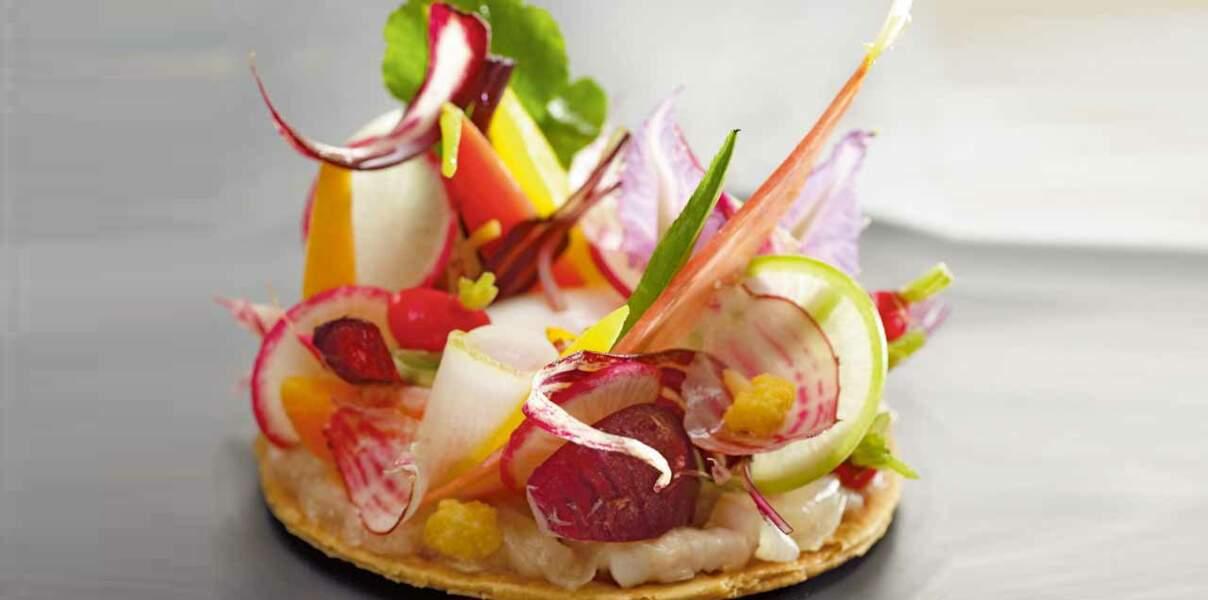 Légumes en tarte croustillante de Cyril Lignac