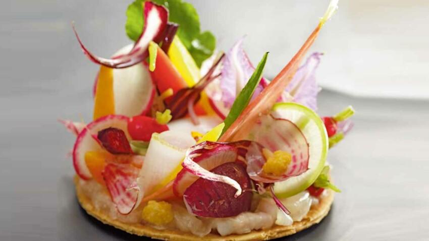 La recette des légumes en tarte croustillante par Cyril Lignac