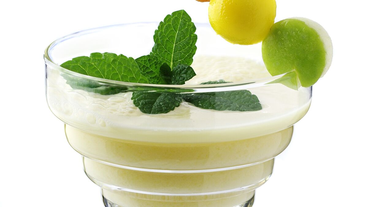 Milky Hope cocktail, short drink avec alcool
