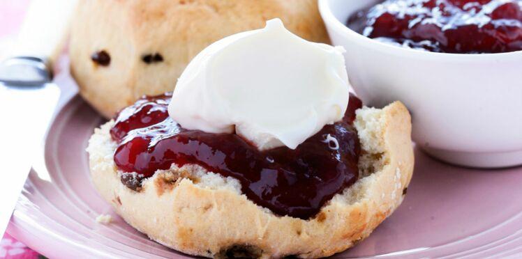 Les scones aux raisins de Rose Bakery