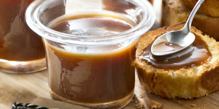 Caramel au beurre salé au sel de Guérande