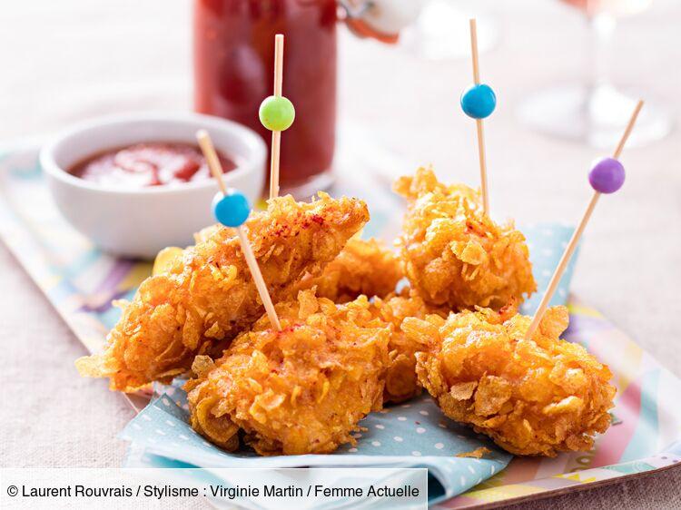 Nuggets De Poulet Et Ketchup Maison Decouvrez Les Recettes De Cuisine De Femme Actuelle Le Mag