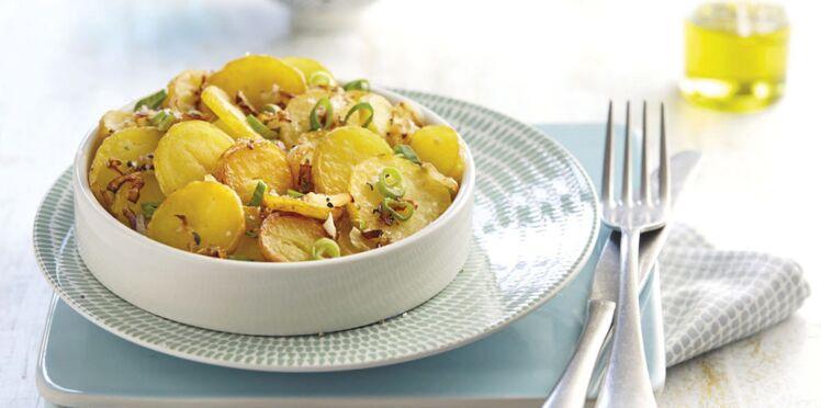 Salade lyonnaise de rattes du Touquet