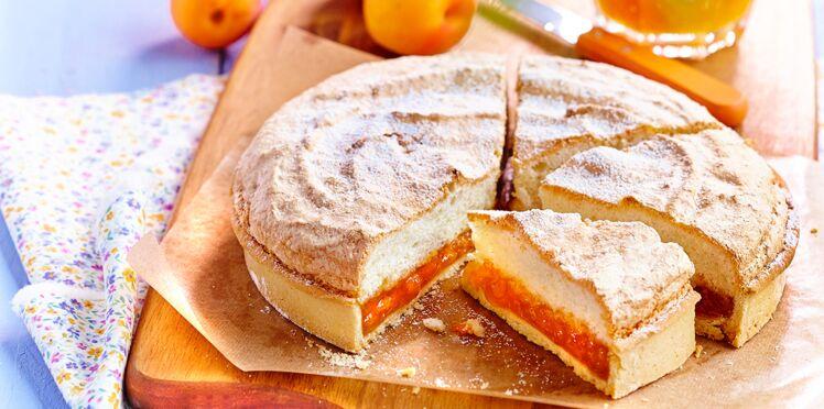 Fenetra aux abricots, citron confit et amandes