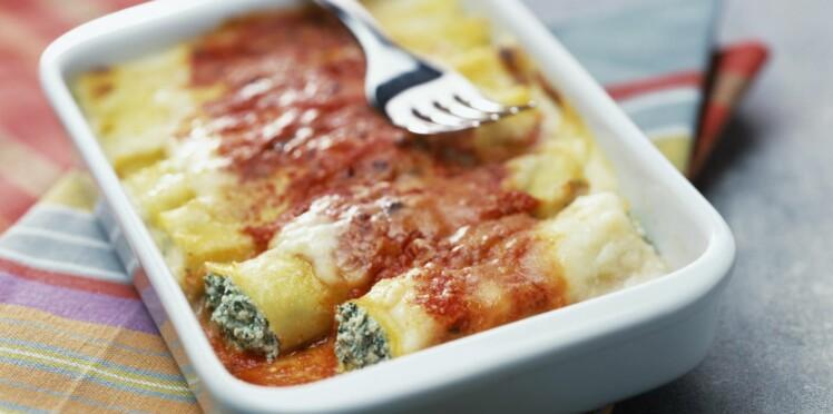 Cannelloni : nos recettes bien roulées