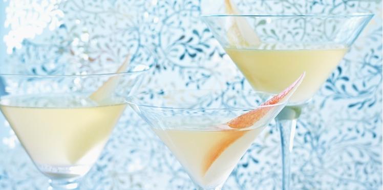 Cocktail de fête : margarita poire